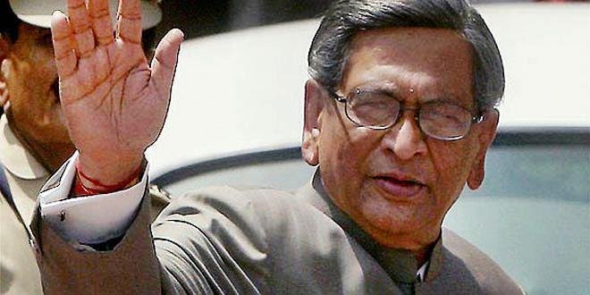 भाजपा में शामिल हुए वरिष्ठल नेता एस. एम. कृष्णास