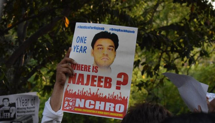 Justice is not meant for everyone, A year of Najeeb disappearance
