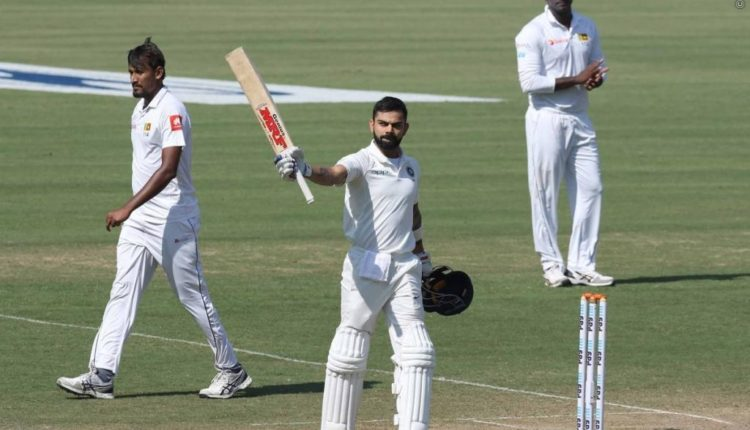 India emerges victorious  in three test match series