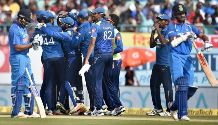 Dramatic Collapse Of Indian Team Against Sri Lanka