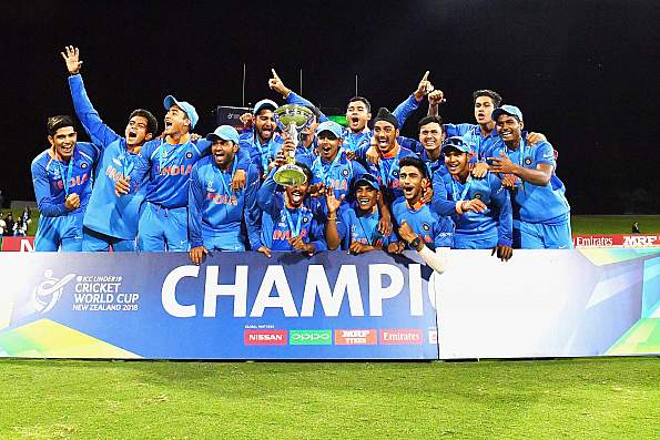 India Lifts The Under-19 World Cup