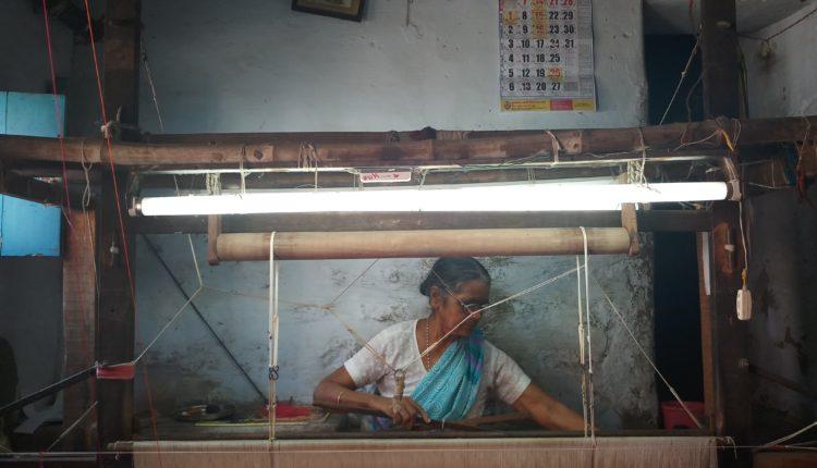 Saraswati Ramaswami Weaving ethnic glory For Years but having none