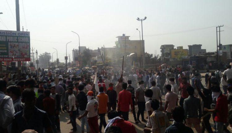 मध्यप्रदेश में भारत बंद के दौरान बहुजन संगठन पर बजरंग दल का हमला