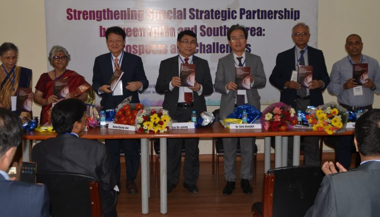 """Strengthening Special Strategic Partnership between India and South Korea: Prospects and Challenges"""