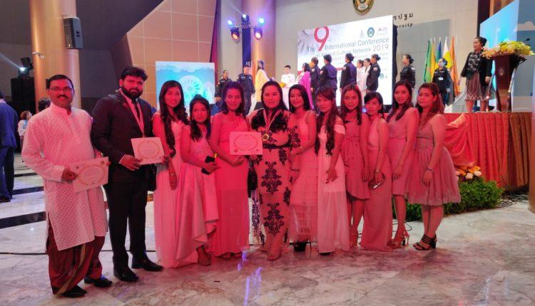 बहुजन युवा ने किया देश का नाम रोशन, थाईलैंड में International Peace & Buddhist Leader Award से सम्मानित