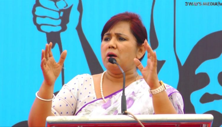 پیپلس پارٹی آف انڈيا کی ناگپور سے لؤکسبھا اميدوار ڈاکٹر منيشا بانگر