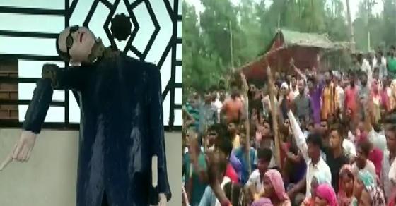 सहारनपुर: डॉ. अंबेडकर की मूर्ति तोड़ने से नाराज़ बहुजन सड़को पर उतरे