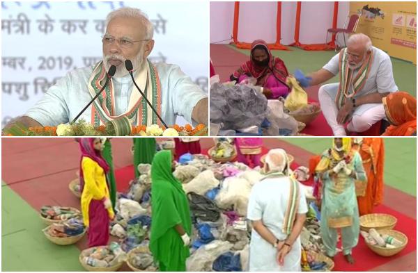 मोदी बहुजन महिला के साथ कचरा छांट कर देश को क्या देना चाहते हैं संदेश?