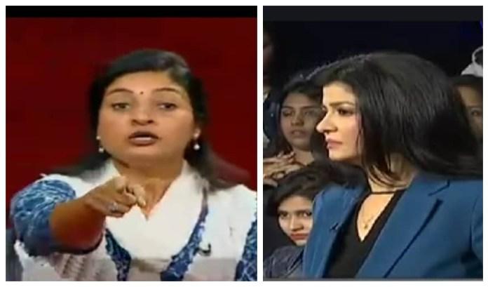 आज तक के शो में अंजना पर भड़कीं अलका लांबा, BJP के बलात्कारी नेताओं पर क्यों नहीं बोलते आप लोग