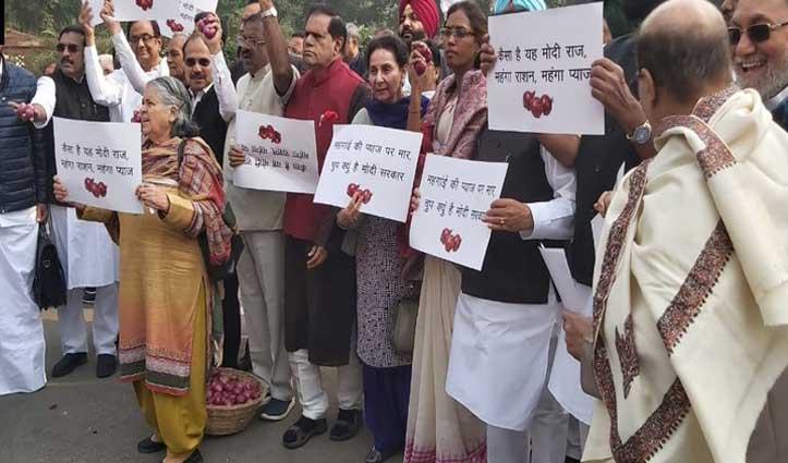 वित्त मंत्री पी. चिदंबरम ने प्याज की कीमतों को लेकर निर्मला सीतारमण पे साधा निशाना