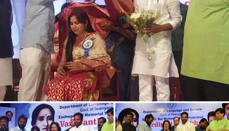 जानिये कौन हैं ईश्वरीबाई जिनके नाम का पुरस्कार तेलंगाना सरकार ने सामाजिक-राजनीतिक कार्यकर्ता और मशहूर डॉ मनीषा बांगर को प्रदान किया है।